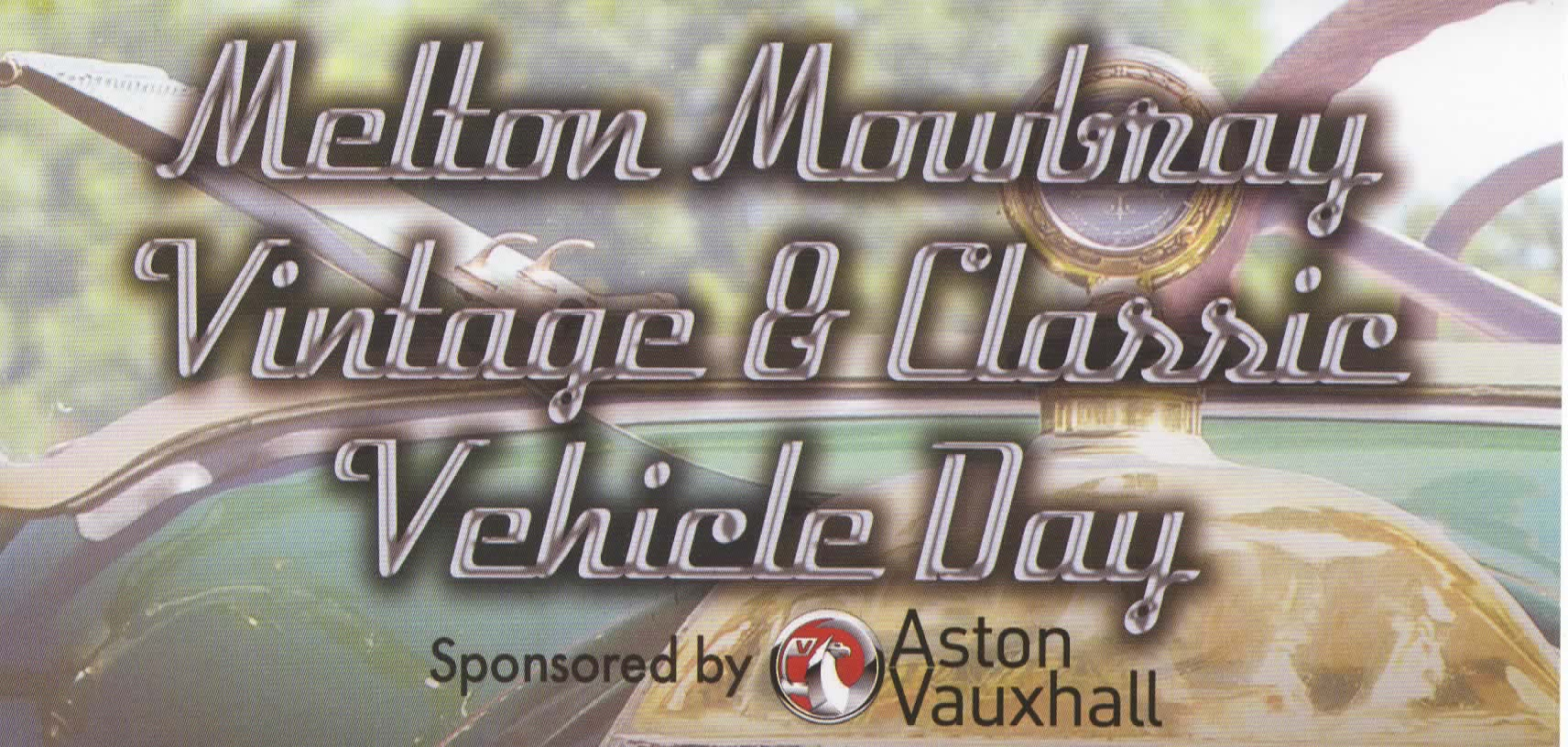 Vehicle Show banner